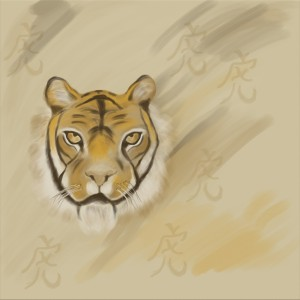 Karate Tiger Spirit