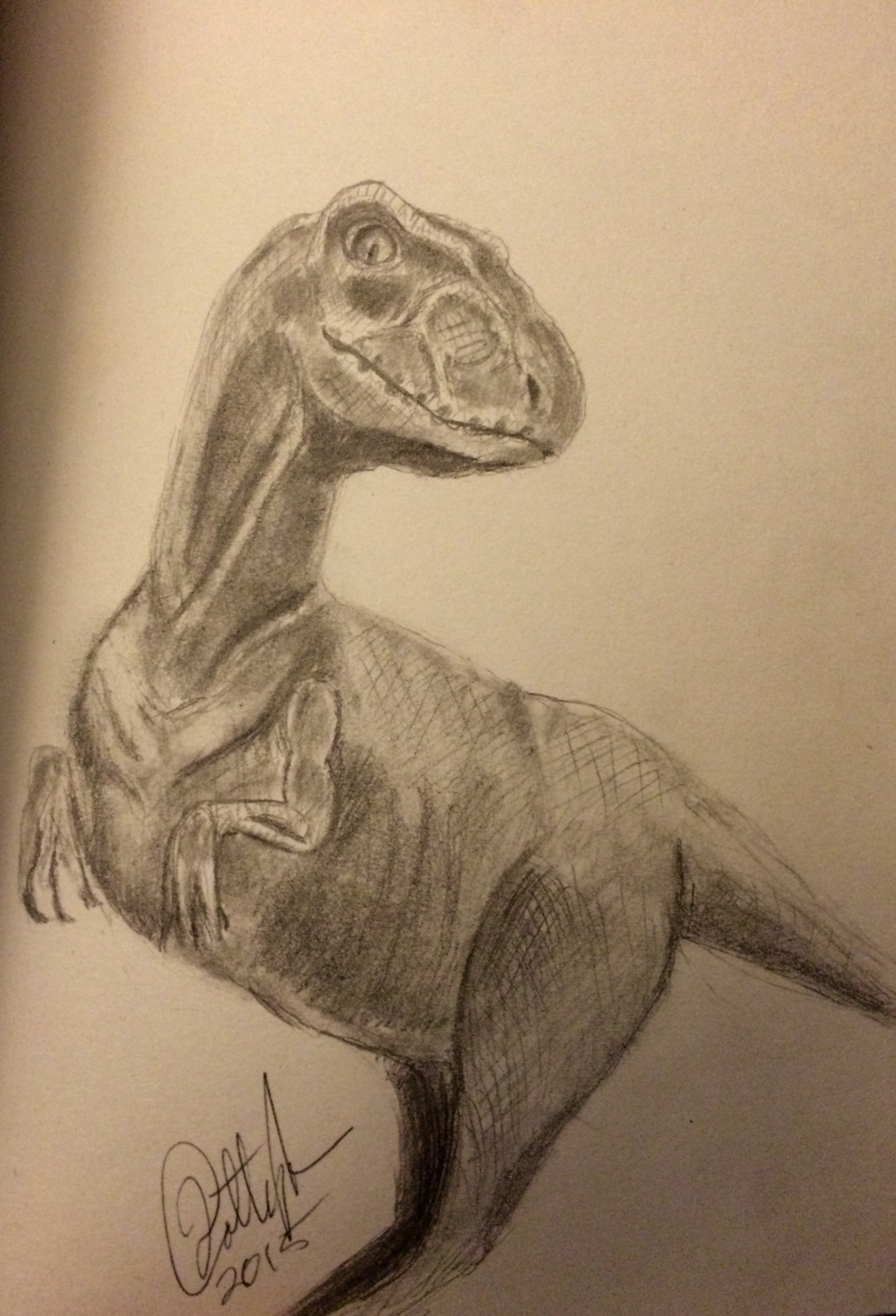 Final Closeup Velociraptor